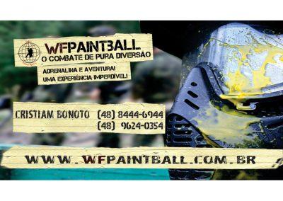 Cartão de visita WF Paintball